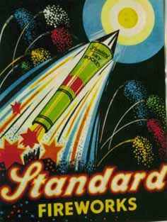 If It's Hip, It's Here (Archives): 30 of the Hippest Vintage Fireworks Posters, Packaging and Labels for The Fourth of July. Fireworks Quotes, Fireworks Pictures, Fireworks Art, Fireworks Design, How To Draw Fireworks, Happy New Year Fireworks, 4th Of July Fireworks, Fireworks Wallpaper, Fireworks Background