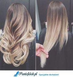 Idealne włosy! piękny kolor i te delikatne fale