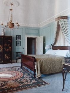 Country Interior, Country Decor, Home Interior Design, Interior And Exterior, Georgian Interiors, Georgian Homes, Beautiful Bedrooms, Beautiful Interiors, Beautiful Beds