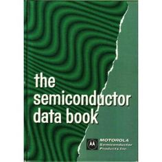 The Semiconductor Data Book Motorola Projects To Try, Lettering, Books, Libros, Book, Drawing Letters, Book Illustrations, Libri, Brush Lettering