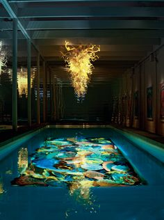 Dale Chihuly 1,500,000 Dollar Pool Chandelier