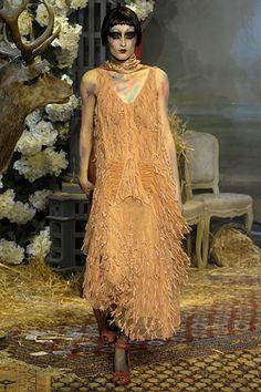 John Galliano Fall 2007 Ready-to-Wear Fashion Show - Iekeliene Stange