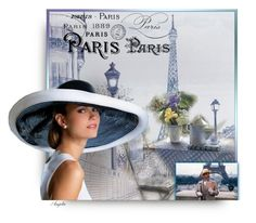"""""""Paris for Breakfast"""" by anjelakewell ❤ liked on Polyvore featuring art"""