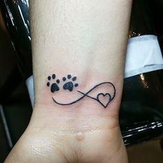 Tattoo dog cartoon wolves 20 Ideas for 2019 Cat Paw Tattoos, Animal Tattoos, Body Art Tattoos, Sleeve Tattoos, Tatoos, Print Tattoos, Trendy Tattoos, Small Tattoos, Tattoos For Women