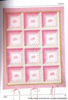 Пэчворк. Схемы лоскутного шитья с вышивкой для детской комнаты