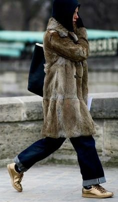 Rabbit Fur, Fur Coat, Fun, Jackets, Fashion, Down Jackets, Moda, Fashion Styles, Fashion Illustrations