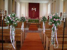 16 best Church wedding decoration ideas images on Pinterest | Church ...