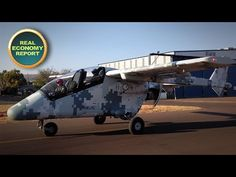 From Creamer Media in Johannesburg, this is the Real Economy Report. On August South Africa's latest aircraft design, the Advanced High-performance Recon. Aircraft Design, South Africa, Public, World, Peace, The World