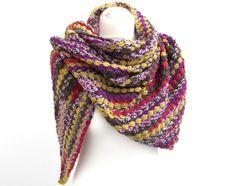 Schultertuch Dreickstuch von turban-style auf DaWanda.com