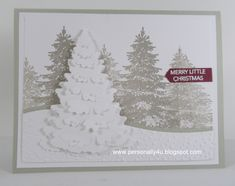 10 Amazing Stampin' Up! 2018 Holiday Catalog Samples Sharing 10 amazing samples from my INKredible Impressions 2018 Holiday Catalog Swaps. Homemade Christmas Cards, Stampin Up Christmas, Merry Little Christmas, Simple Christmas, Christmas Crafts, Christmas 2016, Christmas Trees, Xmas Cards, Holiday Cards
