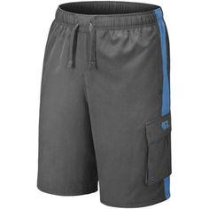 Nike North Carolina Tar Heels (UNC) Charcoal-Carolina Blue Sandrunner Boardshort