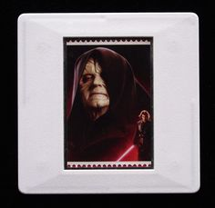 The Royal Mail released a set of special stamps featuring some of the characters, favourite droids, aliens and creatures of the Star Wars films. This 1st class stamp design shows The Emperor.  Sheev Palpatine was initially credited as the Emperor and is also known as Darth Sidious (his Sith identity). The Emperor was played by Ian McDiarmid in the movies. This unique and handmade brooch is an eye-catching piece, ideal to wear at any Comic Con. True Colors, Colours, Presentation Cards, Star Wars Film, Brooches Handmade, Sith, Royal Mail, Design Show, Emperor