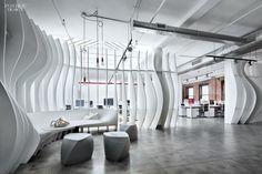 Curves à la Mode: Piret Johanson Redesigns Valtech's NYC Office