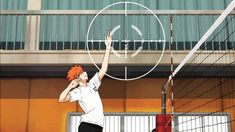 hinata and kageyama (he's so cool as a setter I can't even) #volleyball #haikyuu #gif