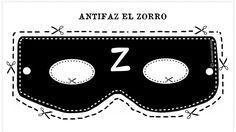 """PODRÁS LUCIR ESTE BONITO ANTIFAZ DE """"EL ZORRO"""" en carnavales, en cualquier fiesta de cumpleaños, de fin de curso, halloween o en..."""