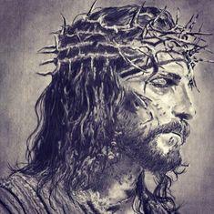 Images Du Christ, Pictures Of Jesus Christ, Names Of Jesus, Jesus Suffering, Catholic Prayers, Catholic Art, Catholic Gentleman, Jesus Loves Us, Religion