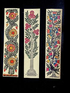 Pichwai Paintings, Indian Art Paintings, Mural Painting, Fabric Painting, Arte Tribal, Tribal Art, Folk Art Flowers, Flower Art, Kalamkari Painting