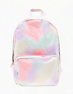 Bershka Multicoloured backpack, ouh iwant this! Cute Backpacks For School, Cute School Bags, Cute Mini Backpacks, Unique Backpacks, Girl Backpacks, Mochila Kpop, School Accessories, Back Bag, Girls Bags