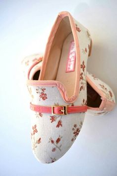 #Zapatos #Flores #Mix&Shine #Flats #Loafers  Facebook: Shoeis Indep