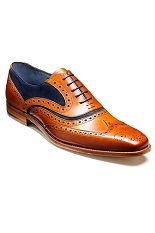 Pantofi Barker McClean - Cedar Calf/Blue Suede - NOU!