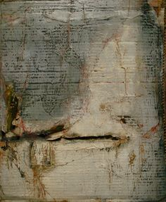 Jeane Myers, Cotton Candy, 2012, mixed media and bees wax on card board