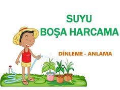 Suyu Boşa Harcama - Dinleme Metni - YouTube Turkish Language, Drama, Family Guy, Youtube, How To Plan, Education, Kids, Fictional Characters, Young Children