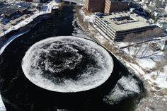A Giant Ice Disk Has
