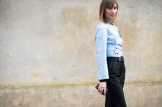 On the Streets of Paris Fashion Week Fall 2014 - PFW Street Style Day 3