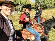 """heartland-and-beyond: """" """"Had a great ride with the family on the weekend!! #family #Heartland"""" Source """""""