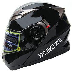 Oferta: 84.99€ Dto: -34%. Comprar Ofertas de Yema Helmet YM-925 Casco Moto Modular con Doble Visera-Negro-XS barato. ¡Mira las ofertas!