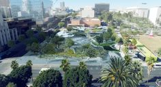 Gallery of OMA, MLA, and IDEO Selected to Design New Park for Downtown Los Angeles - 2