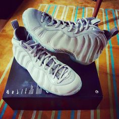 "Foamposite PRM ""Wolf Grey"""