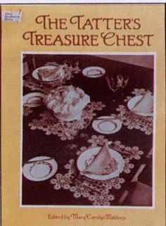 My favourite tatting book atm. The baby cap I tatted is from this book.