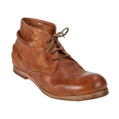 Shoto Elk Dive Wrinkled Ankle Boots at Barneys.com