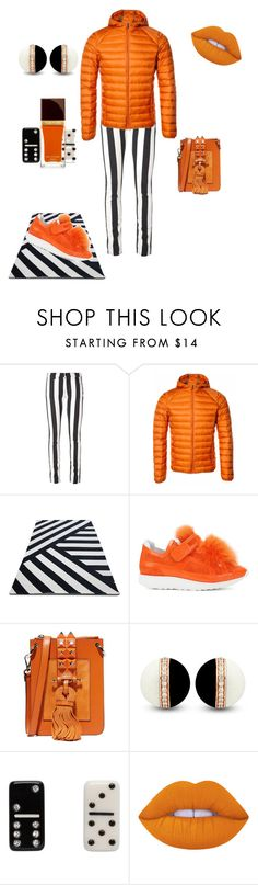 """""""Untitled #1441"""" by styledbytjohnson on Polyvore featuring Off-White, Pierre Hardy, SALAR, Marc Jacobs, Lime Crime and Tom Ford"""