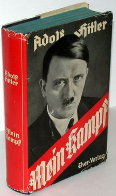 The Nazi Bible - Mein Kampf by Adolf Hitler Political Ideology, Politics, Propaganda Techniques, Don Delillo, Books To Read, My Books, Cultura General, The Book Thief, The Third Reich