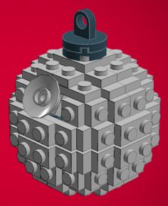 Free DIY instructions to make a Death Star LEGO ornament (you thought it was a Xmas ball?)
