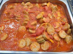 Turkey sausage marinara