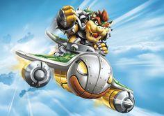 Skylanders Superchargers Bowser Poster