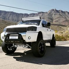One of the sickest Nissan Titans I've ever seen.