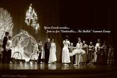 """*Your coach awaits to take you to Mansfield Conservatory West's """"Cinderella.... The Ballet"""" 4 week Summer Camp!! The program is open to children ages 5-7 and 8-12. Explore the ballet Cinderella through music, movement and improvisation. Learn about the characters (including Cinderella, her Fairy Godmother and The Step Sisters), costumes, (make one of your own in our costume workshop), create a """"glass slipper"""" and then celebrate at our Cinderella Ball!! The camp begins on Monday June 15"""