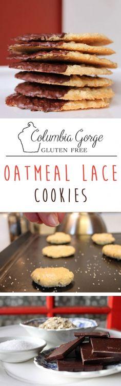Flourless oatmeal lace cookie recipe