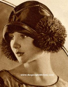 Google Image Result for http://www.thepeoplehistory.com/1920sfashion/accessories1926/1926pomponhat.jpg