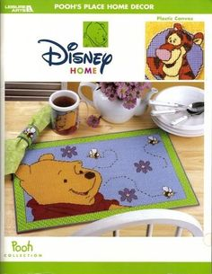 POOH'S PLACE HOME DECOR *FRONT COVER WITH PHOTOS OF COMPLETED PROJECTS: POOH…