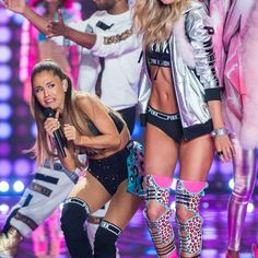 Ariana Grande's Face At The Victoria's Secret Fashion Show Becomes A Meme That's Afraid Of Everything