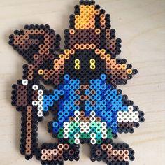 Vivi - Final Fantasy perler beads by _pikagirlcrafts