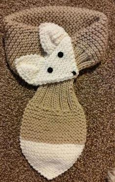 Diy Crafts - Adjustable Hand Knit Fox Scarf Beige/ Cream neck by QuiltNCrochet Baby Knitting Patterns, Knitting For Kids, Hand Knitting, Crochet Patterns, Diy Crafts Knitting, Crochet Crafts, Knitting Projects, Fox Scarf, Hand Knit Scarf