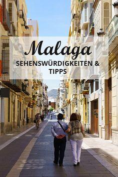 Malaga Spanien Andalusien Tipps Sehenswürdigkeiten