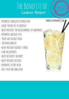 This one healthy habit can really help your body in so many different ways. Pin for Later! #lemon #healthy #water