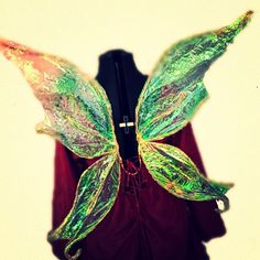 Iridescent Faery wings for cosplay womens fairy wings ladies